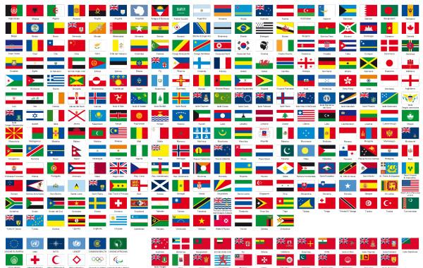 Atlante internazionale delle bandiere